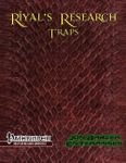 RPG Item: Riyal's Research: Traps