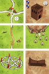 Board Game: Die Eroberer (Fan Expansion to Carcassonne)