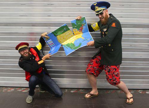 Board Game: Revenge of the Dictators