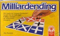 Board Game: Milliardending