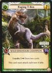 Board Game Accessory: Epic Card Game: Raging T-Rex Alternate Art Promo Card
