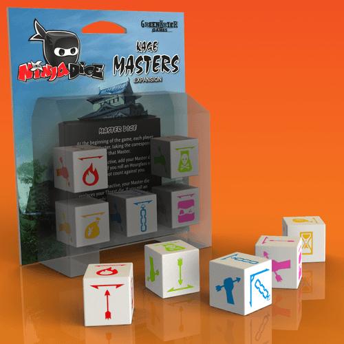Board Game: Ninja Dice: Kage Masters