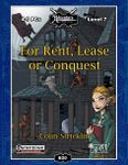 RPG Item: B20: For Rent, Lease or Conquest