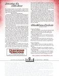 RPG Item: Garnering the Cult's Favor