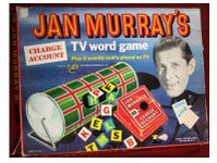 Board Game: Charge Account: Jan Murray's TV Word Game