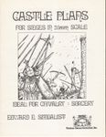 RPG Item: Castle Plans for Sieges in 25mm Scale