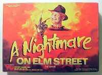 Board Game: A Nightmare on Elm Street: The Game
