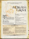 RPG Item: A Druid's Grove
