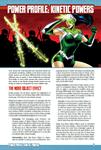 RPG Item: Power Profile #15: Kinetic Powers