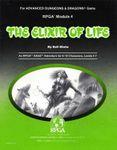 RPG Item: RPGA4: The Elixir of Life