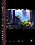 RPG Item: 21 Starport Places Second Edition