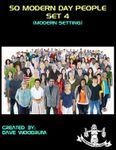 RPG Item: 50 Modern Day People, Set 4