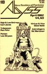 Issue: Abyss (Issue 18 - Apr 1982)