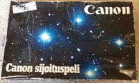 Board Game: Canon sijoituspeli