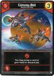 Board Game Accessory: Star Realms: Convoy Bot Alternate Art Promo Card