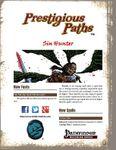 RPG Item: Prestigious Paths: Sin Hunter