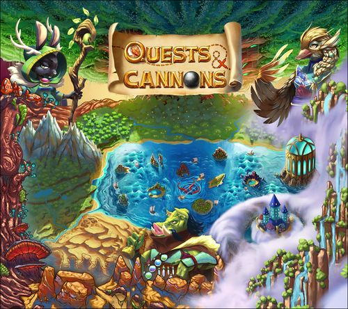 Quests & Cannons Cover Art