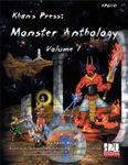 RPG Item: Monster Anthology: Volume 1