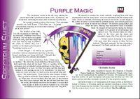 RPG Item: Colours of Magic: Purple Magic (D20)