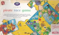 Board Game: Pirate Race Game