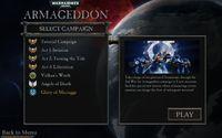 Video Game: Warhammer 40,000: Armageddon – Glory of Macragge