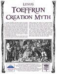 RPG Item: Toeffrun Creation Myth
