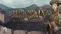 Video Game: Europa Universalis IV: Mandate of Heaven