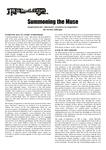 RPG Item: Summoning the Muse