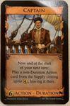 Board Game: Dominion: Captain Promo Card