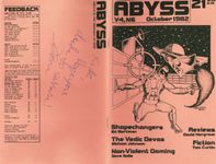 Issue: Abyss (Issue 21 - Oct 1982)