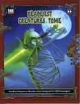 RPG Item: The Deadliest Creatures Tome