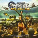 Board Game: Quartermaster General (Second Edition): Total War