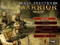 Video Game: Full Spectrum Warrior
