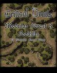 RPG Item: Critical Trails: Modular Forest 3 - Foothills