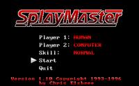 Video Game: SplayMaster