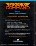 RPG Item: Civilian Weapon Data Supplement