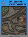 RPG Item: Battlemap Cave Complex
