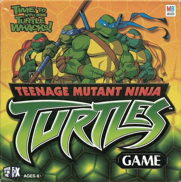 Teenage Mutant Ninja Turtles Game Board Game Boardgamegeek