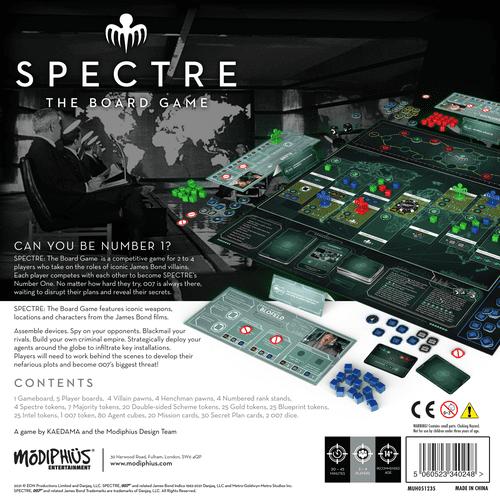Board Game: SPECTRE: The Board Game