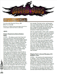 Issue: Fading Suns: Town Crier's Guild Report (Issue 2 - Feb 2018)