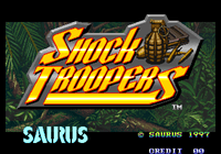 Video Game: Shock Troopers