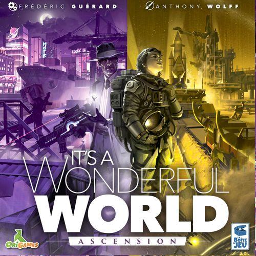 Board Game: It's a Wonderful World: Corruption & Ascension