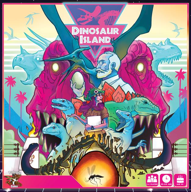 Dinosaur Island | Board Game | BoardGameGeek