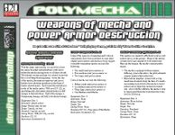 RPG Item: Weapons of Mecha and Power Armor Destruction