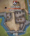 RPG Item: Tehox Maps Fort Hexamand