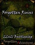 RPG Item: Forgotten Ruins 22x21 Battlemap