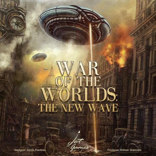 Board Game: War of the Worlds: The New Wave
