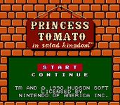 Video Game: Princess Tomato in the Salad Kingdom