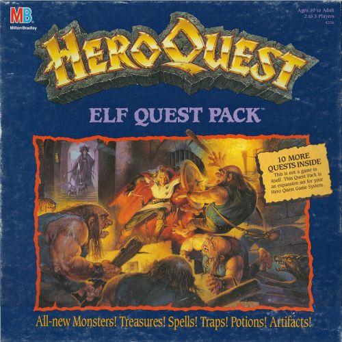 Board Game: HeroQuest: Elf Quest Pack