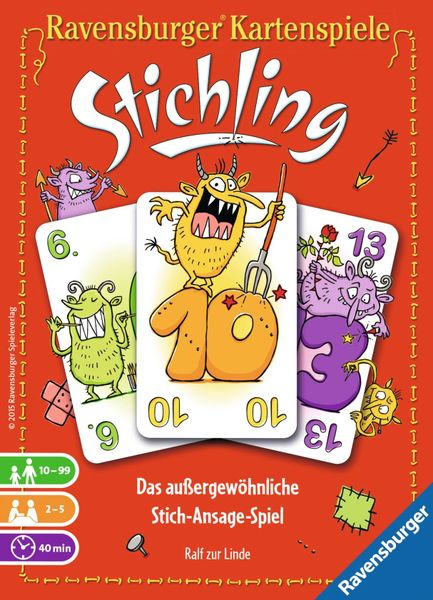 Stichling, Ravensburger, 2015 — front cover (image provided by the publisher)